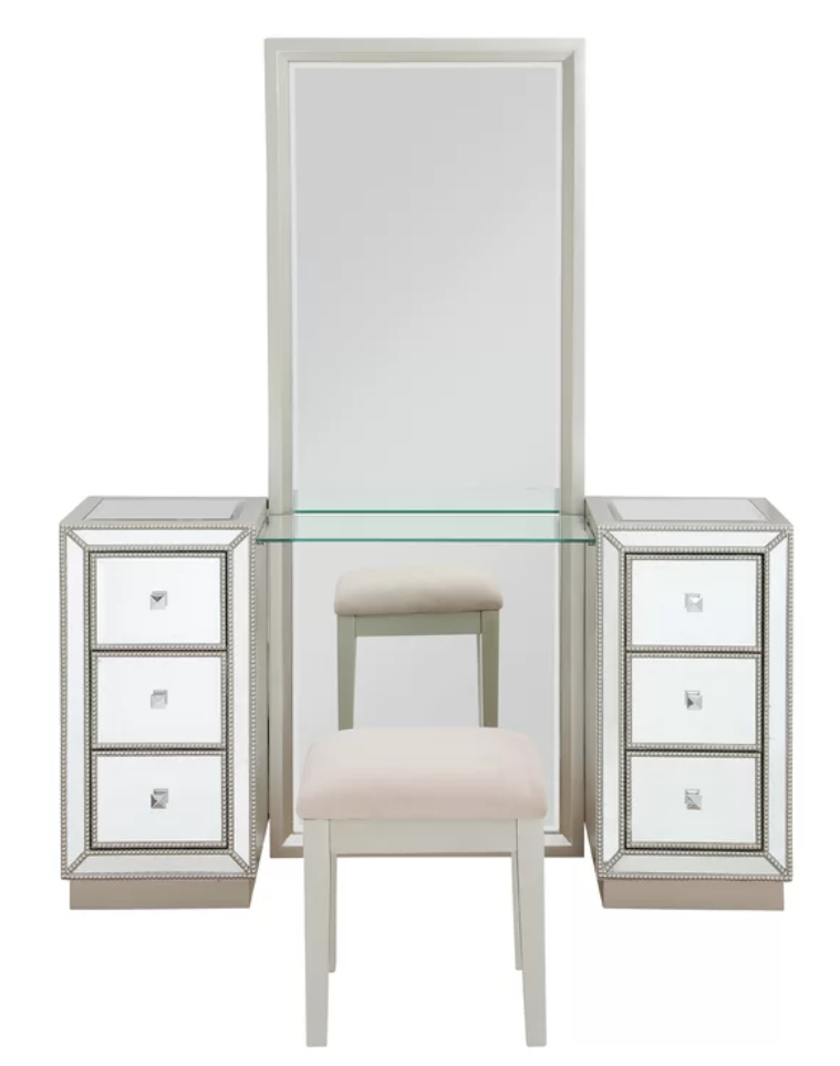 Bon Vanity Set With Mirror
