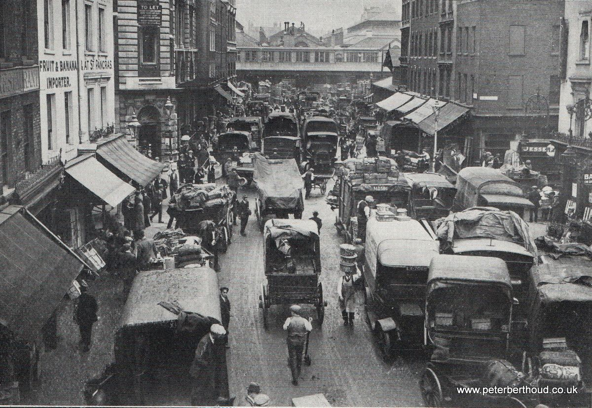 Covent Garden Market Russell Street Approach (1930) (With