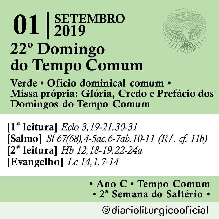 A Imagem Pode Conter Texto Com Imagens Evangelho Leitura Salmo