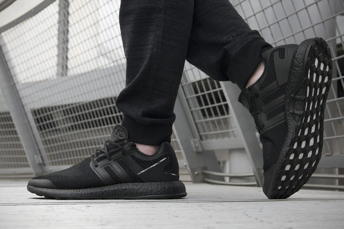 On Feet Images Of The Upcoming adidas Y 3 Pure Boost Triple