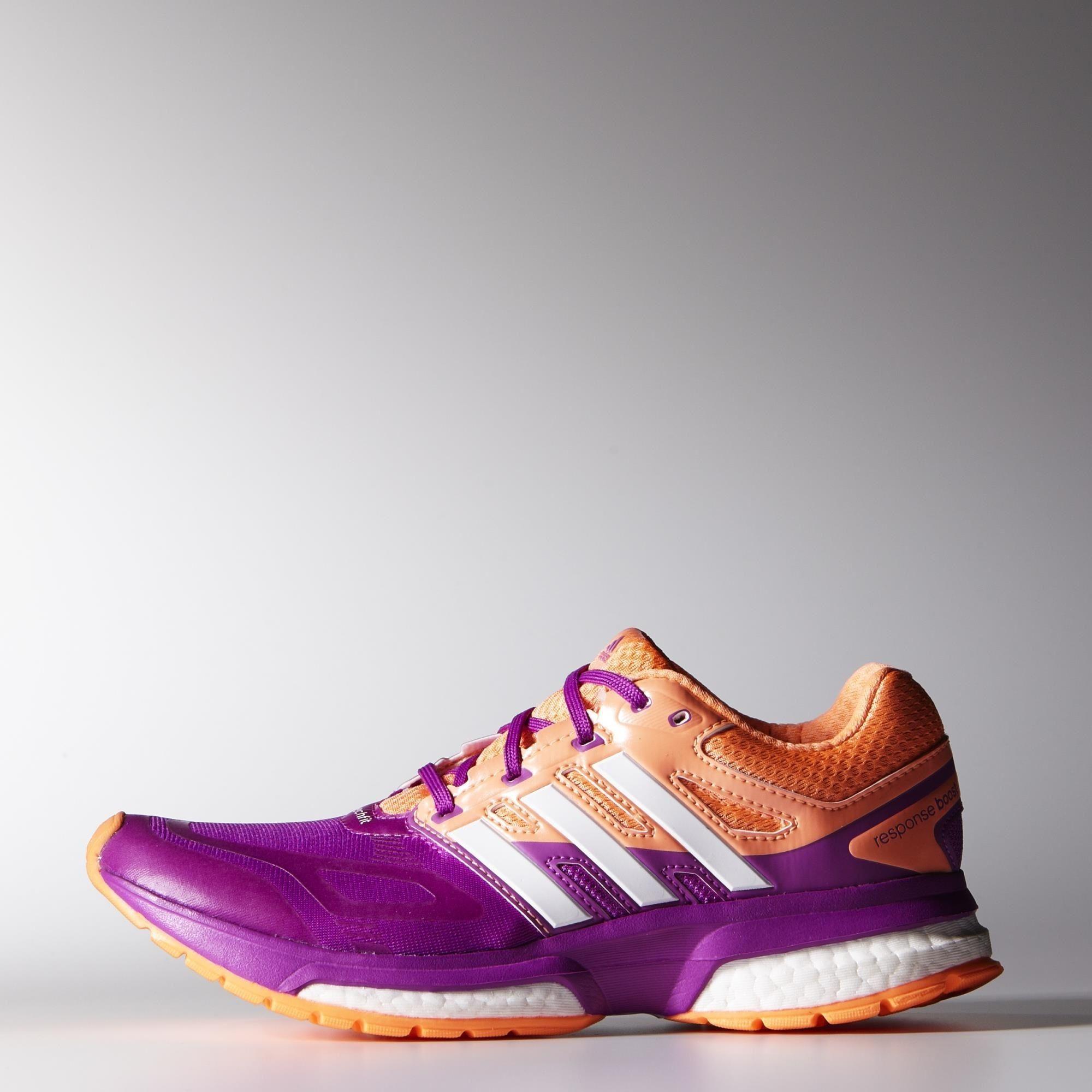 adidas Response Boost Techfit Shoes Pink adidas