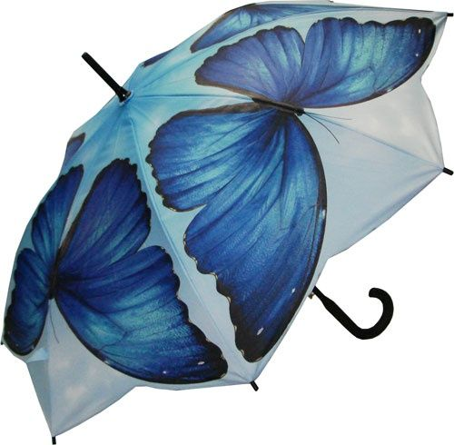 Blue Butterfly #Umbrella.