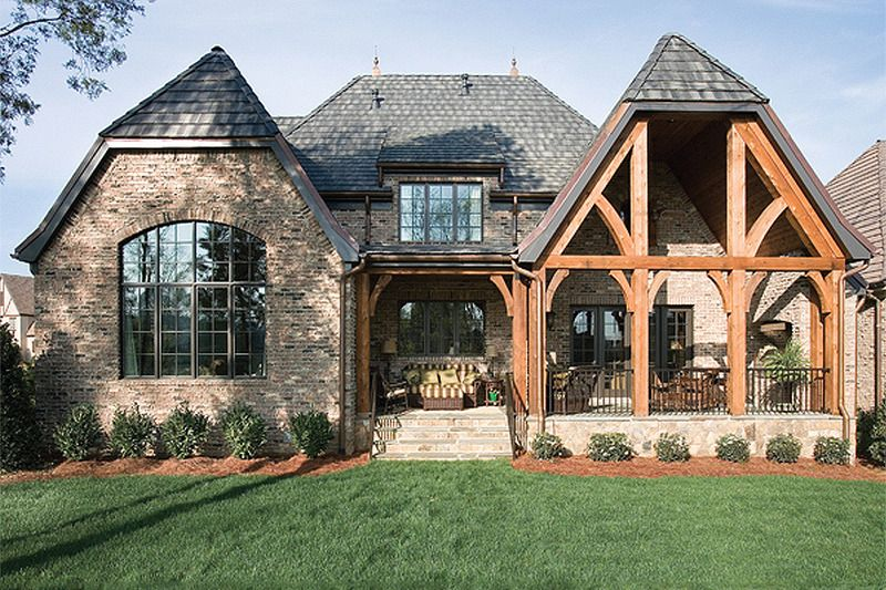 European Homes Exterior Design. European Style Houses Borrow Materials And  Exterior Details That Are Common To French, British, And Mediterranean