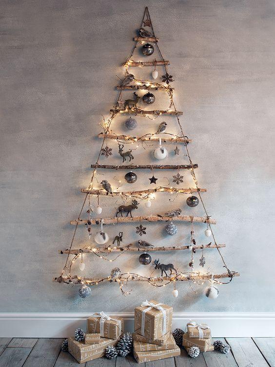 Mira estos arboles de navidad diferentes Navidad Pinterest