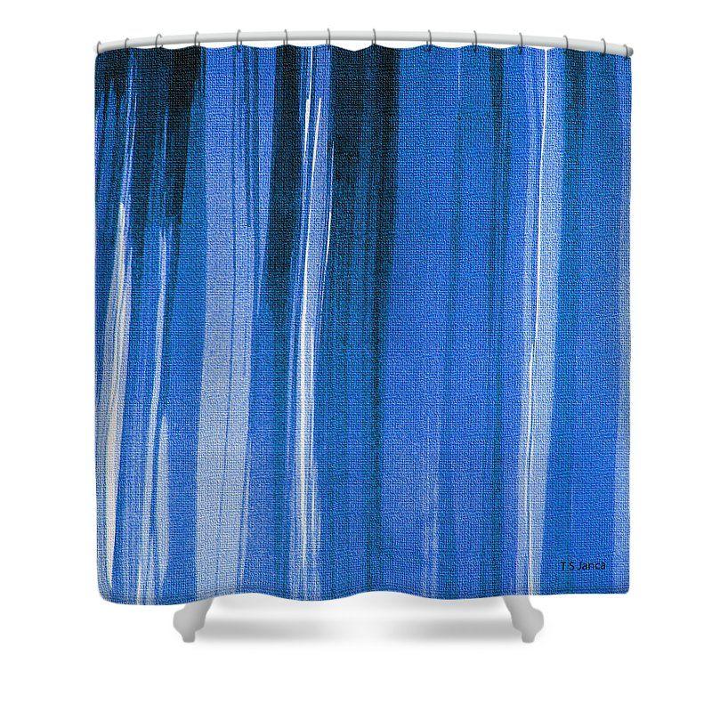 Pin de Tom Janca en Shower Curtain Design Art Pinterest - cortinas azules