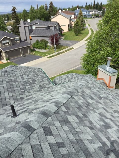 Premier Roofing Co 907 346 4131 Anchorage Alaska Malarkey 3m Legacy Shingles Oxford Grey Roofing Roof Trim Cool Roof