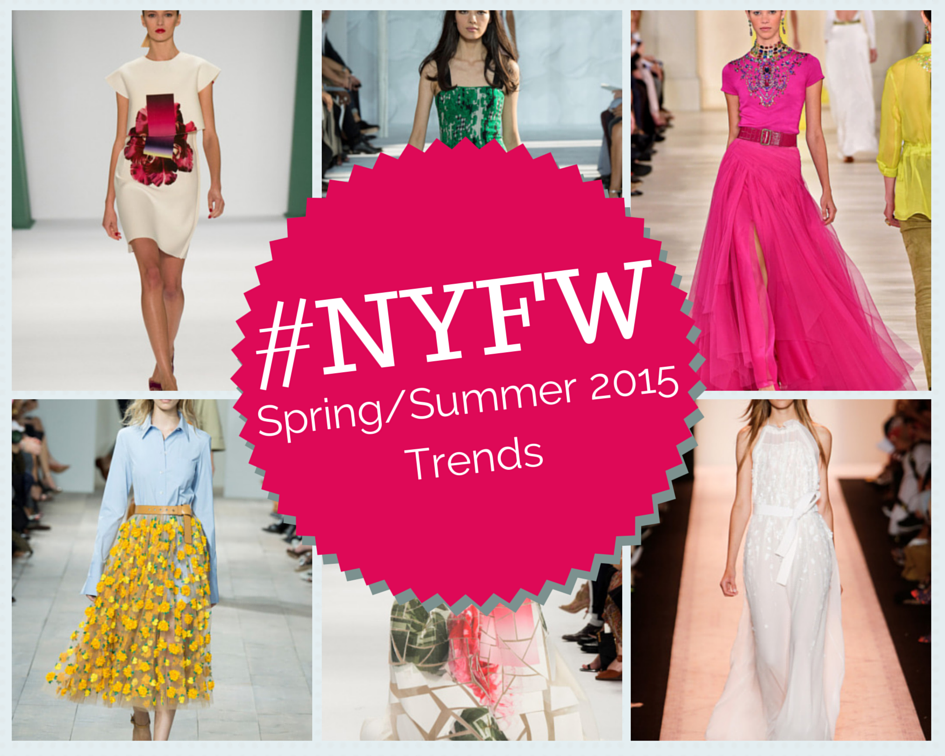 The Rooftop Blog: #NYFW : Spring 2015 Trends