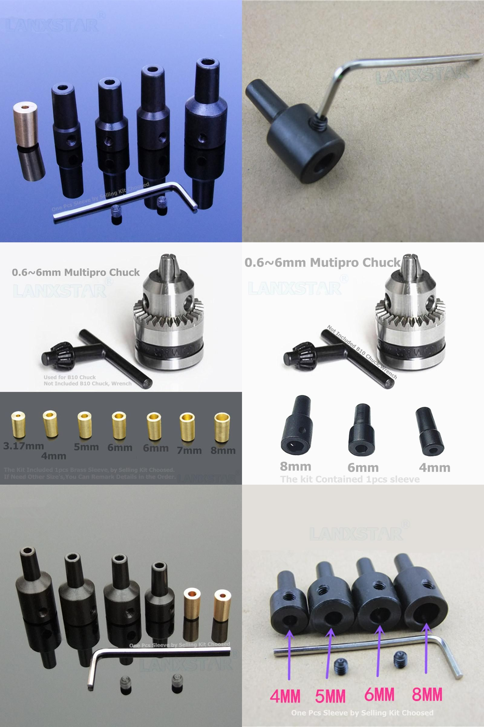 Visit To Buy B10 Drill Chuck Connecting Rod Drills Clamp Sleeve High Precision Connected Carbon Steel Sleeves Coupling 3 17 1 Drill Chucks Carbon Steel Drill