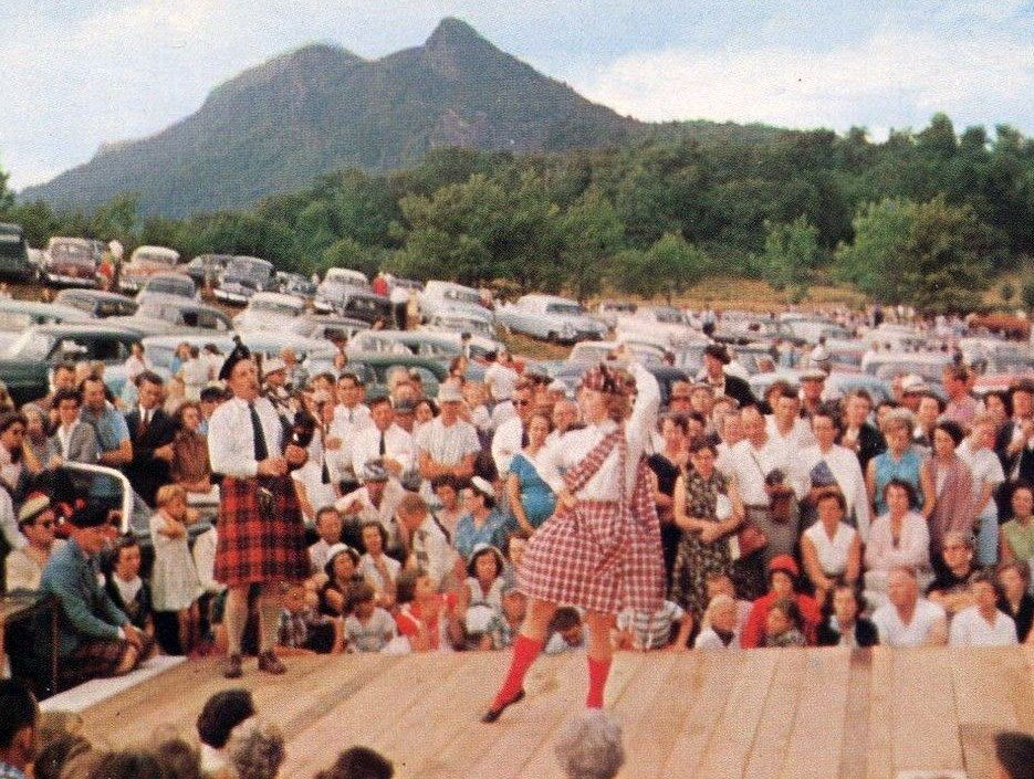 1952 Grand Father mountain Highland Games North