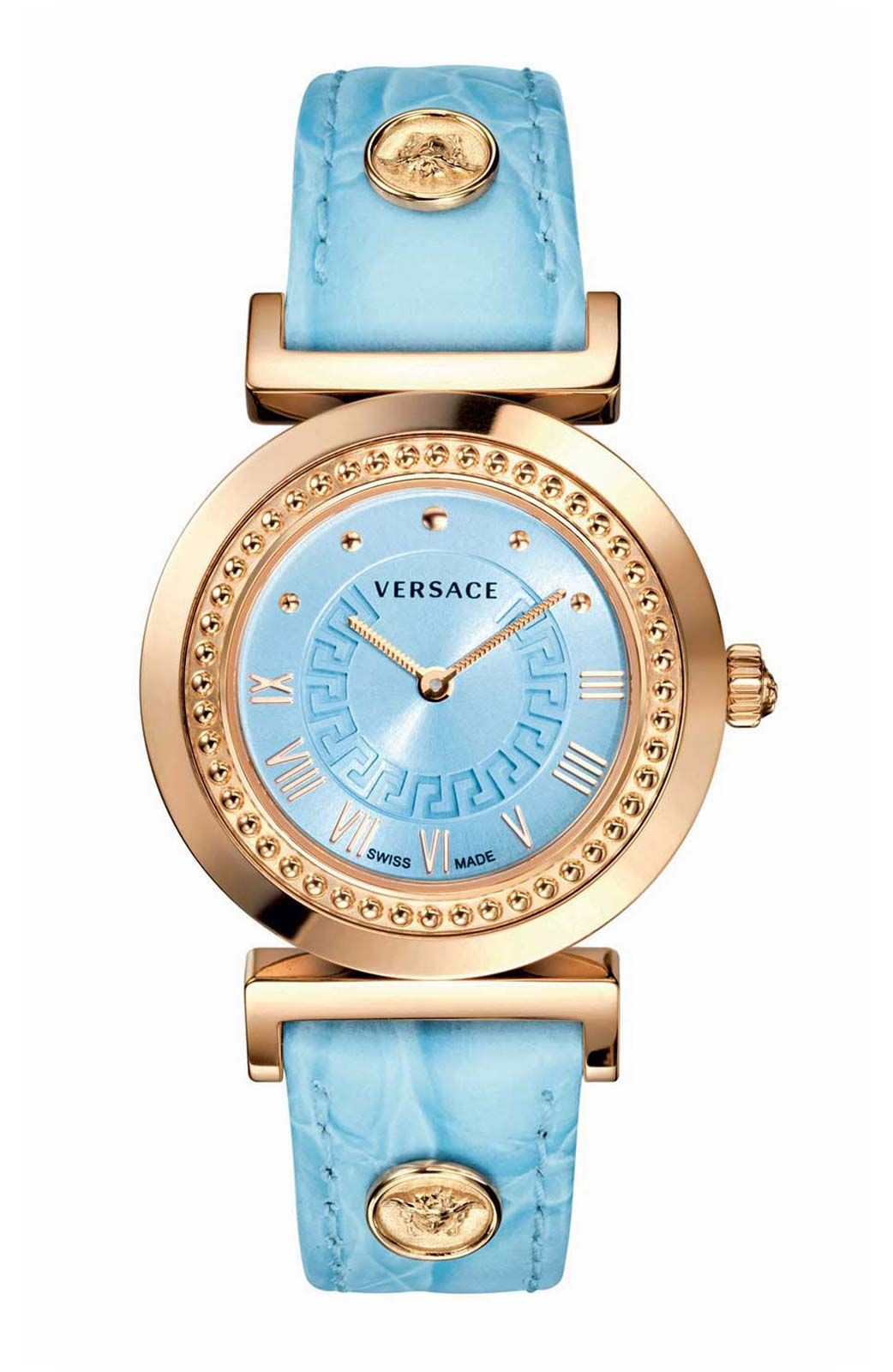 809cb16c6d VANITY BY VERSACE LIGHT BLUE AND ROSE GOLD | Accessories | Reloj ...