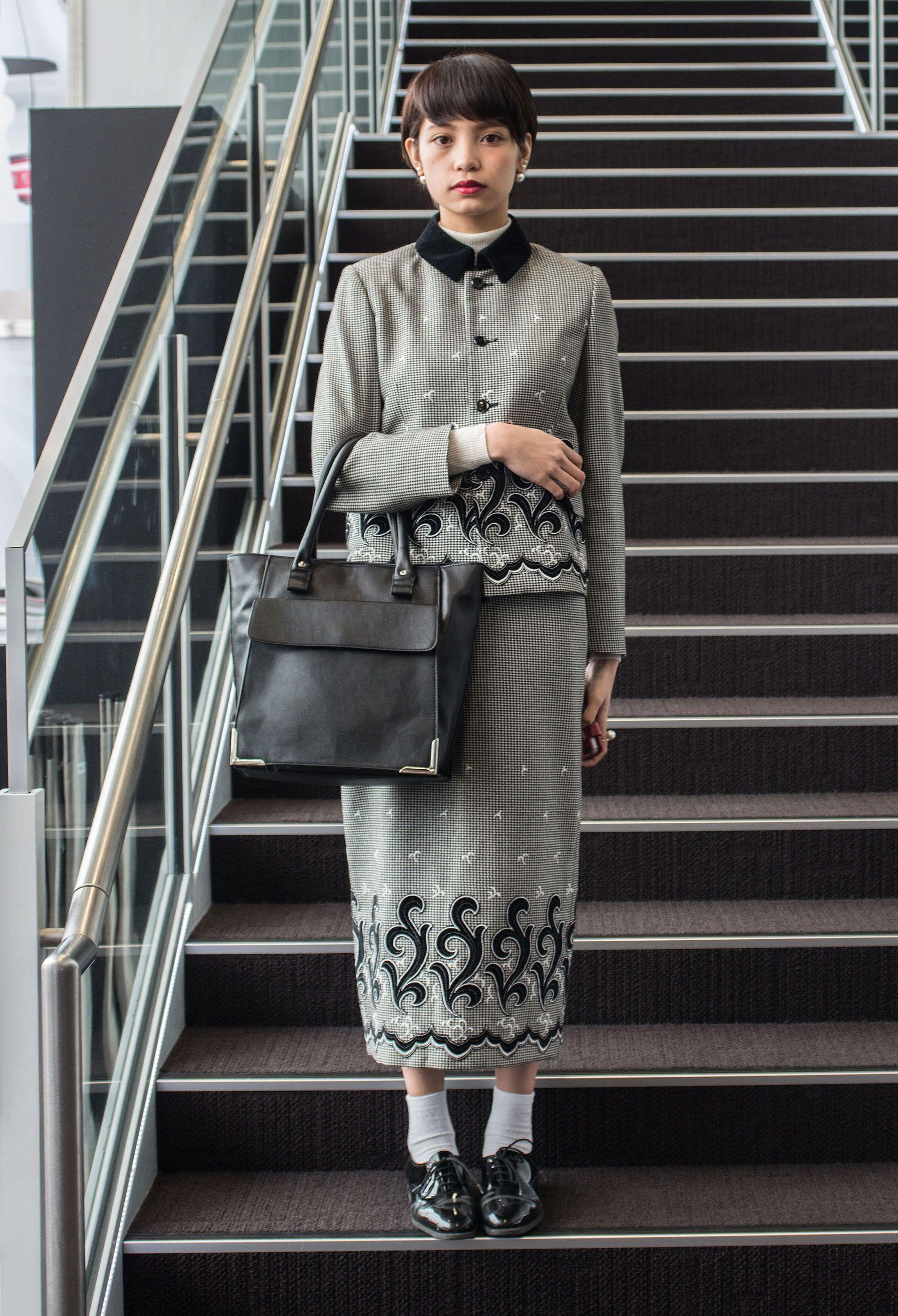 Galeria de Fotos Fora da caixa: o street style superoriginal da semana de moda de Tóquio // Foto 6 // Notícias // FFW
