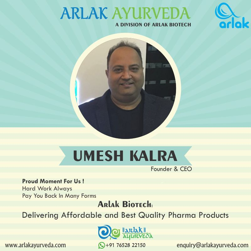 Arlak biotech is marketing more than 1000 brands for