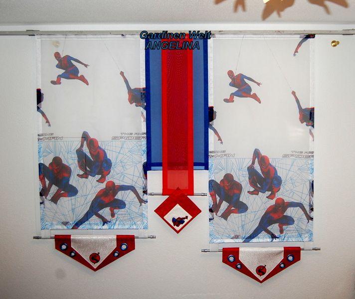 Spider Man Gardinen | Spiderman and Spider