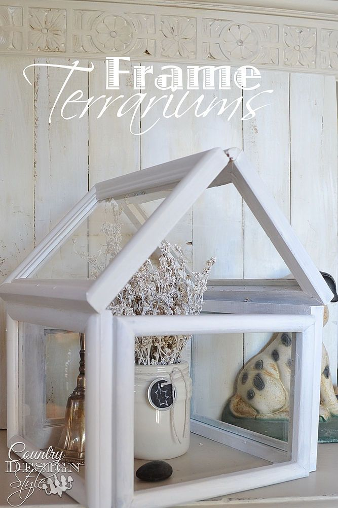 Turn thrift store frames into the best accessory for your mantel ...