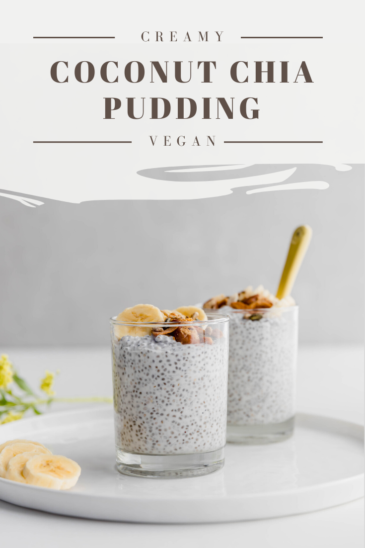 Creamy Coconut Chia Pudding Baking Ginger Recipe Coconut Chia Pudding Dessert Recipes Easy Chia Pudding
