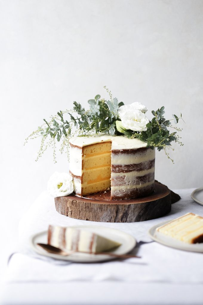 Lemon Curd and Coconut Cake - The Polka Dotter