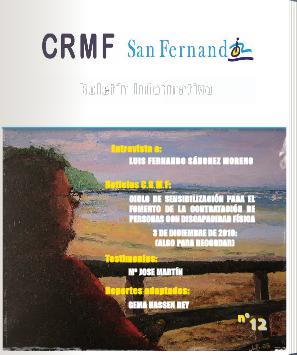 Nº12 Boletín Informativo del CrmfSf  http://es.calameo.com/read/00026539737330c089cf5 #boletinesCrmfsf