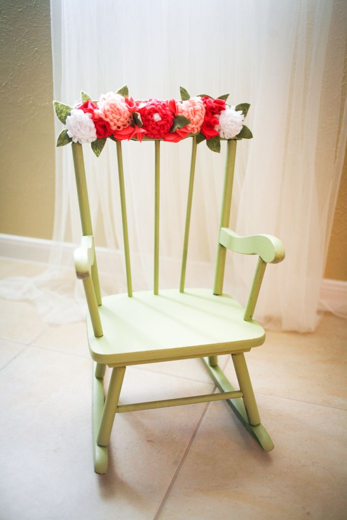 Tank You Notes Shabby To Fabby Upcycled Rockin Chair Kids