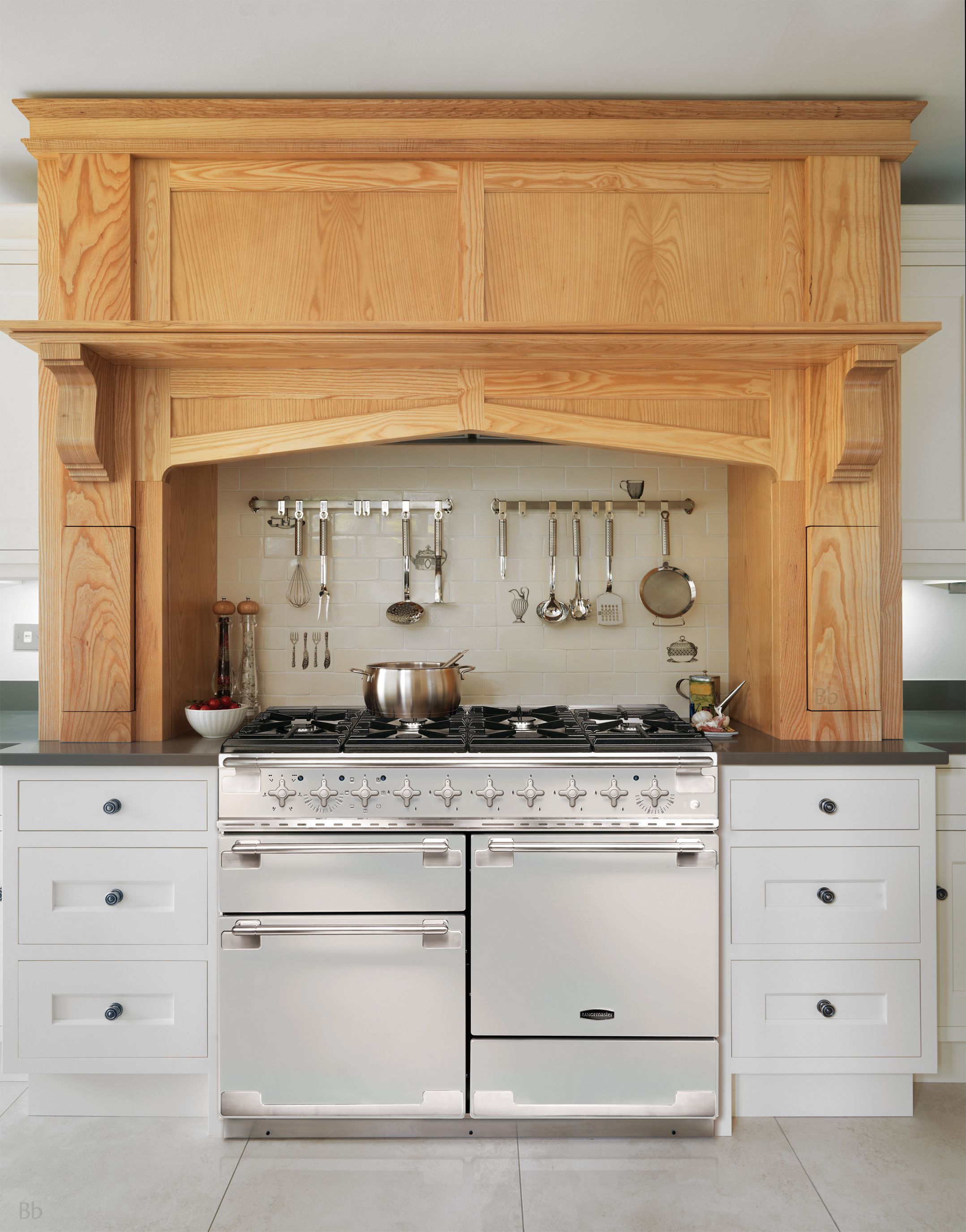 Rangemaster Elise In Ice White And Brushed Stainless Steel Trim  A Stylish  Focal Point In Any Kitchen!