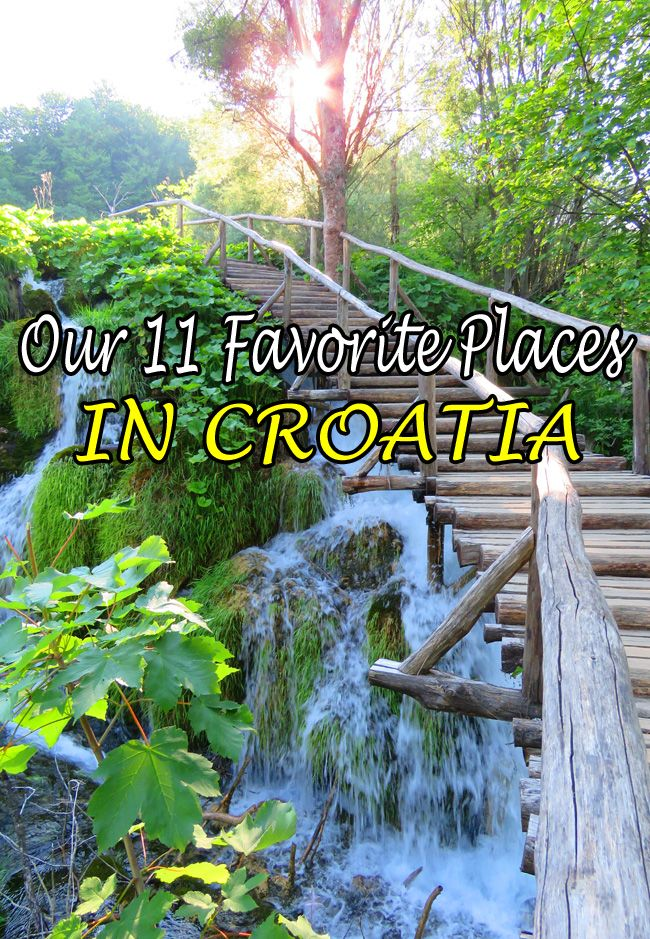 Where should you go in Croatia? Our favorite places: http://bbqboy.net/11-favorite-places-croatia-visit/ #croatia