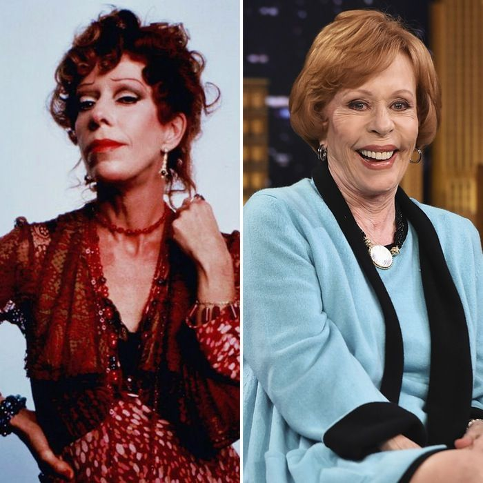 It S Carol Burnett S 83rd Birthday See The Cast Of Annie Then And Now Closer Weekly Carol Burnett Celebrities Female Famous Faces