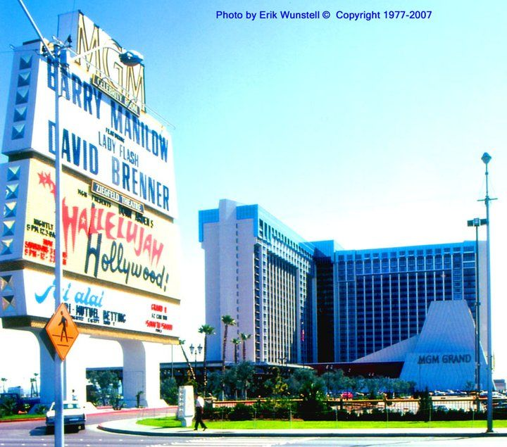 The Mgm Grand 1970 S Las Vegas Photos Las Vegas Old Vegas