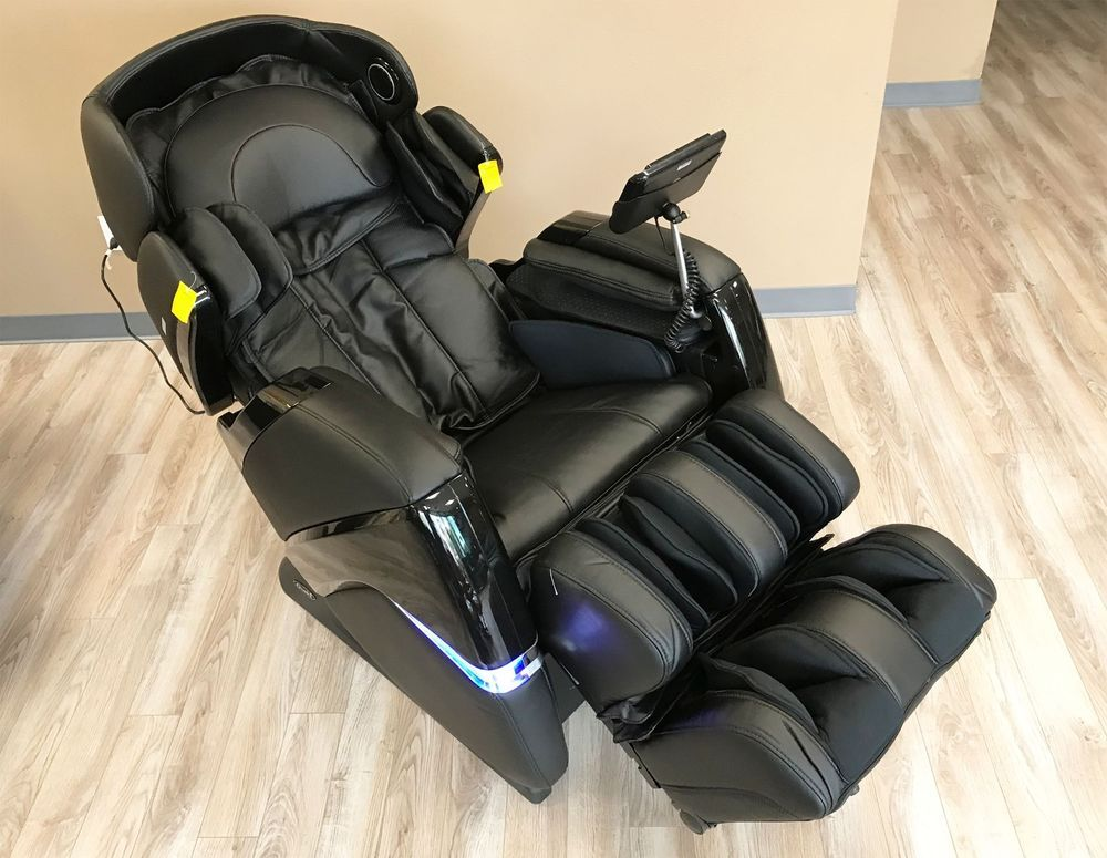 osaki os 3d pro cyber massage chair brown leather club chairs zero gravity recliner with one year warranty