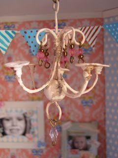 Diy Lamparas En Miniatura Miniature Lamps Miniaturas Tutoriales Casa De Munecas En Miniatura Miniaturas Tutoriales
