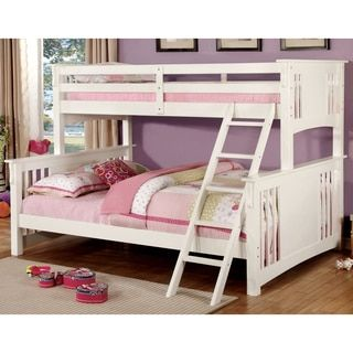 Shop for Furniture of America Mission Style Junior Twin XL over Queen Bunk Bed. Get free delivery at Overstock.com - Your Online Furniture Outlet Store! Get 5% in rewards with Club O!