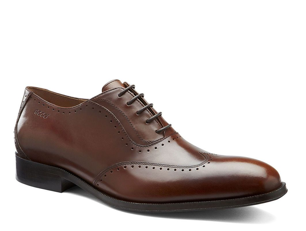 Dixon Wing Tip Tie | Men's Dress Shoes | ECCO USA