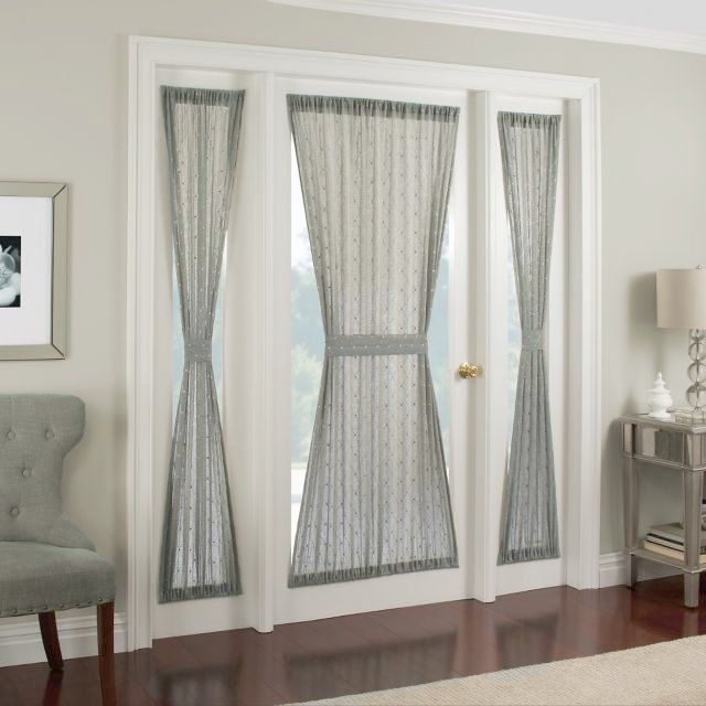 long for french rod door doors panel front white adjustable design exceptional types of curtains rods images curtain