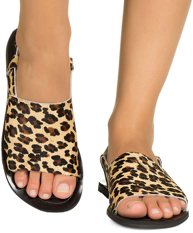 f53a50352 Rasteira avarca pelo onça Taquilla - Taquilla - Loja online de sapatos  femininos