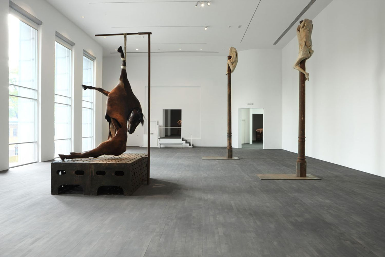 Berlinde de Bruyckere - slaughterhouse