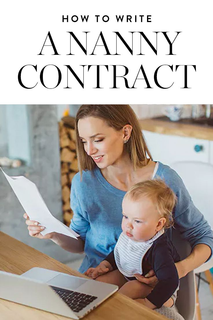 Here's What You Need To Know About Nanny Contracts (Including Why They're  So Clutch For A Successful Working Relationship).