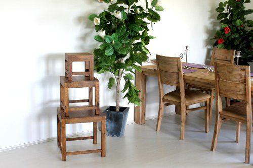 Beistelltisch B/H/T 25 cm Couchtisch Wohnzimmertisch Tisch - couchtisch aus massivholz 25 designs