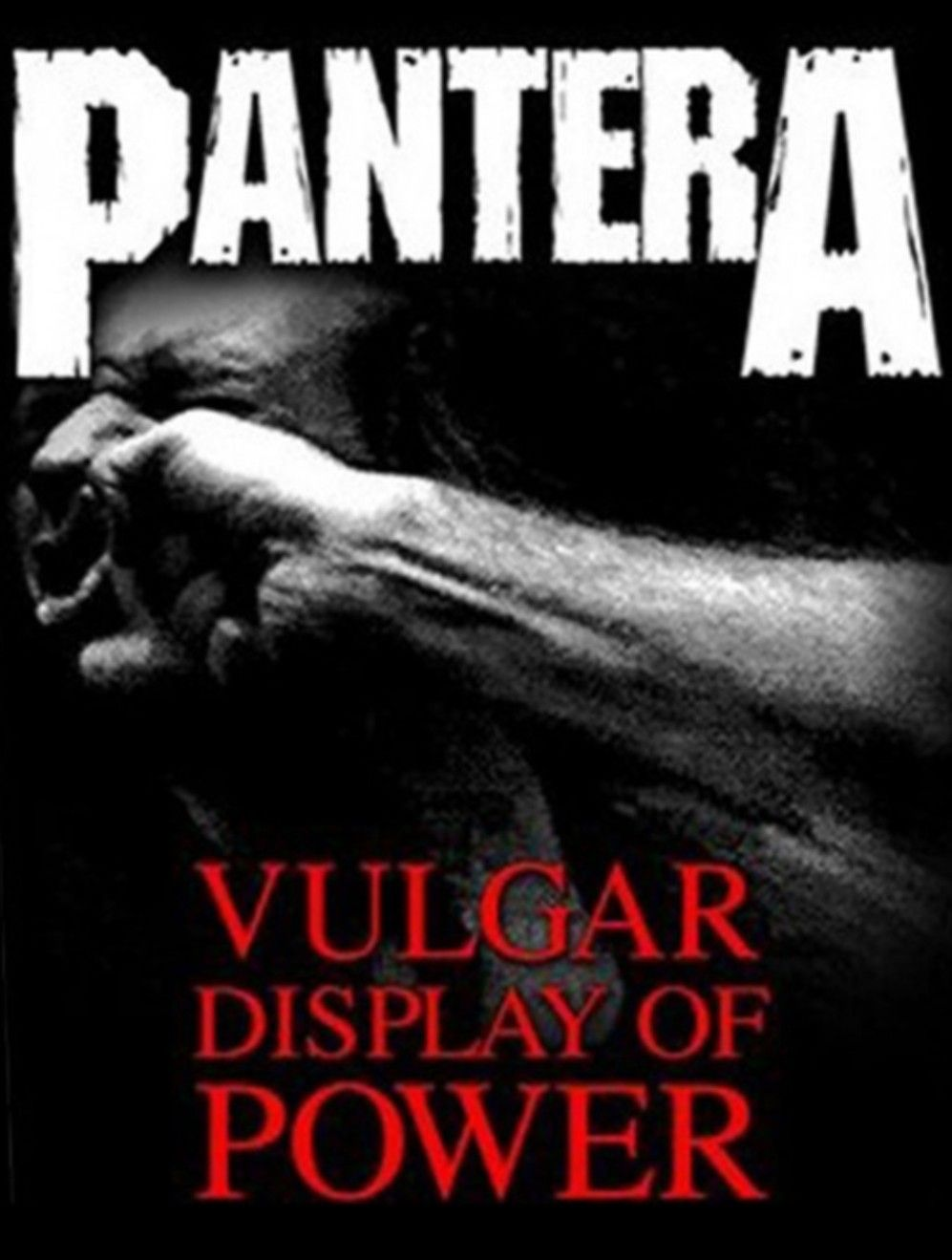 Pantera Vulgar Display of Power Thrash Metal Licensed Tee T-Shirt Men