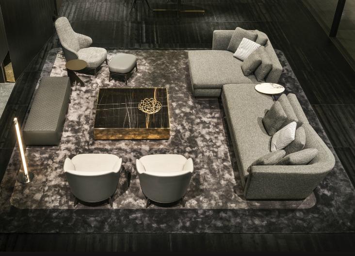 #Milaan #Noortinterieur #Minotti #interior #Seymour #Sofa #Elliott #table