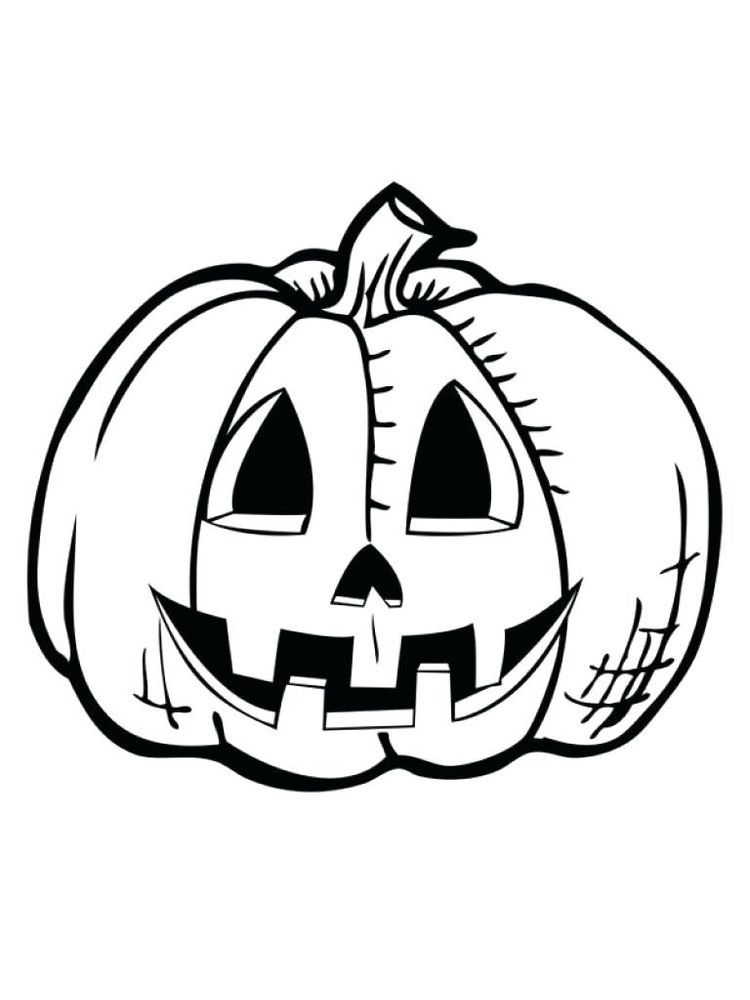 Jack O Lantern Coloring Pages Free Halloween Celebrations That