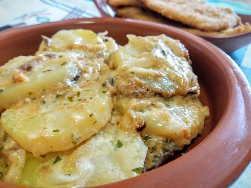comidas con patatas cocidas