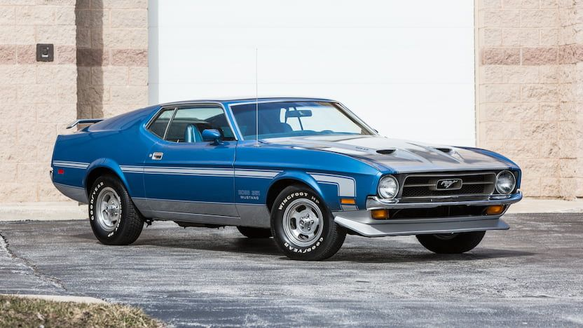 1973 Ford Mustang Mach 1 Fastback | T89 | Indy 2018 | Mecum Auctions