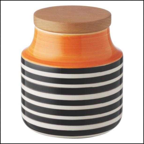 Kitchen:Orange Kitchen Storage Jars Orange Kitchen Storage Jars