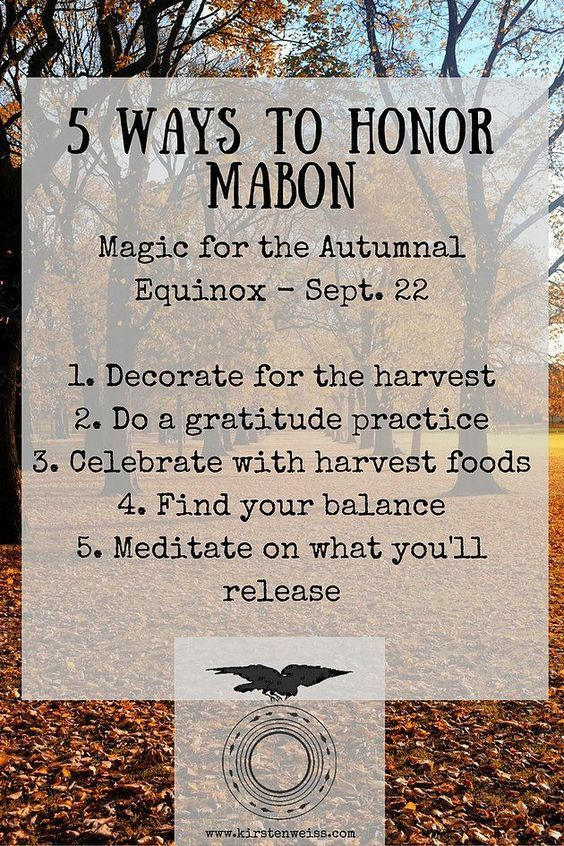 5 Ways to Honor Mabon – Witches Of The Craft® #maboncelebration