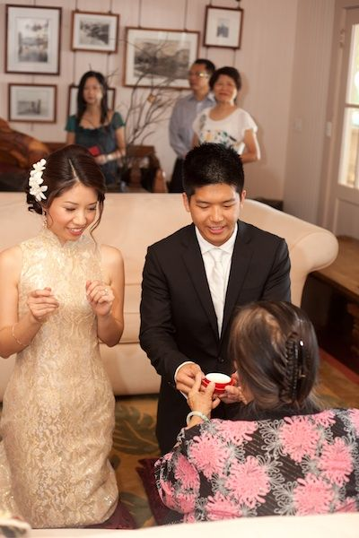 Chinese Wedding Tea Ceremony In Maui