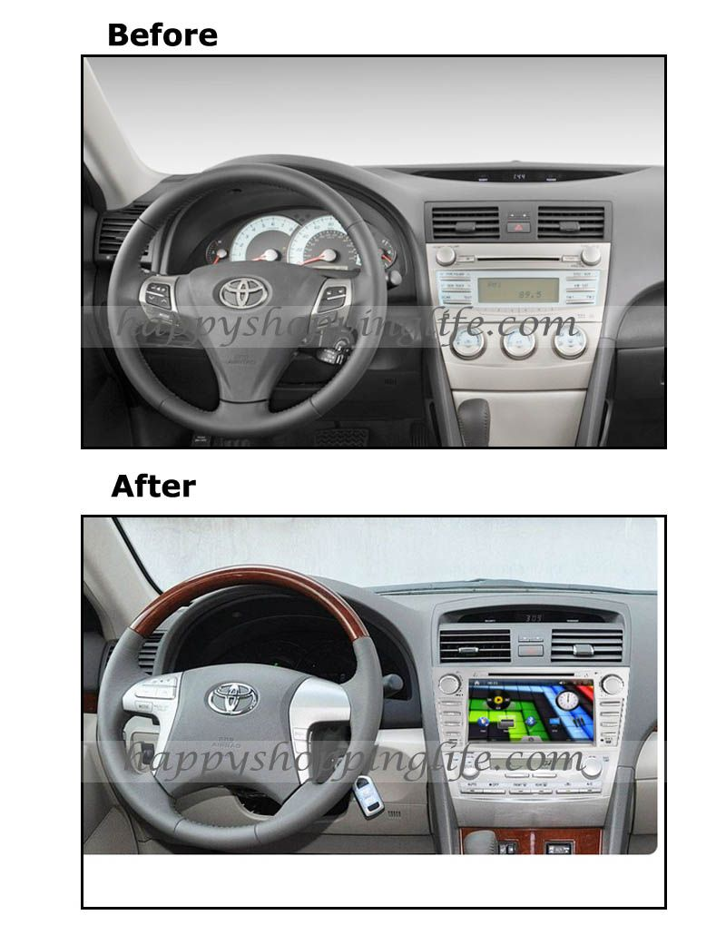 General Function 8 Inch Car Dvd Player Fit Toyota Camry 2007 2017 Gps Navigation With Dual Zone Bluetooth Usb Sd Radio Rds Ipod