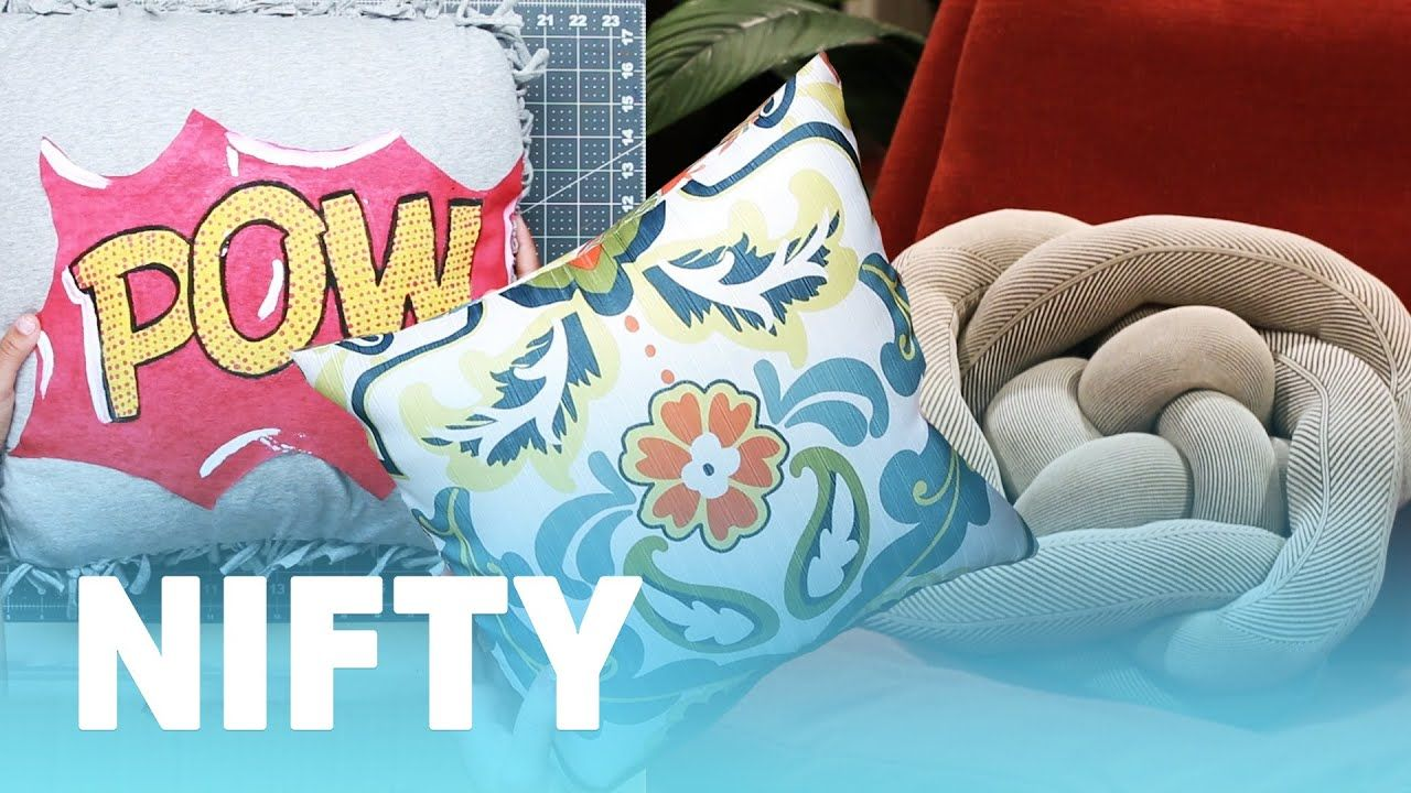 5 diy pillow ideas youtube cute diys and life hacks pinterest 5 diy pillow ideas youtube solutioingenieria Images