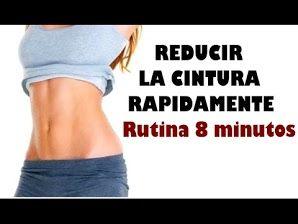 Ejercicios para adelgazar el abdomen y cintura rapido para mujeres
