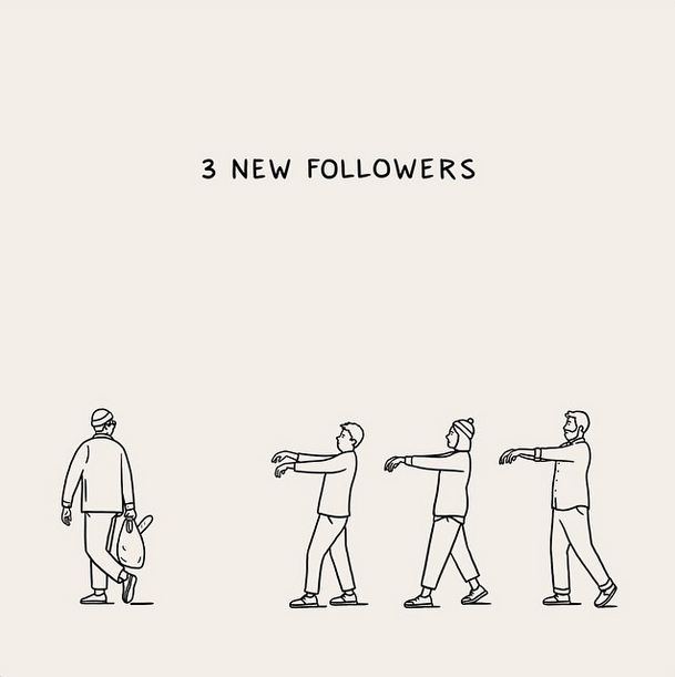 These Brilliant Drawings Mock Today S Social Media Culture Funny