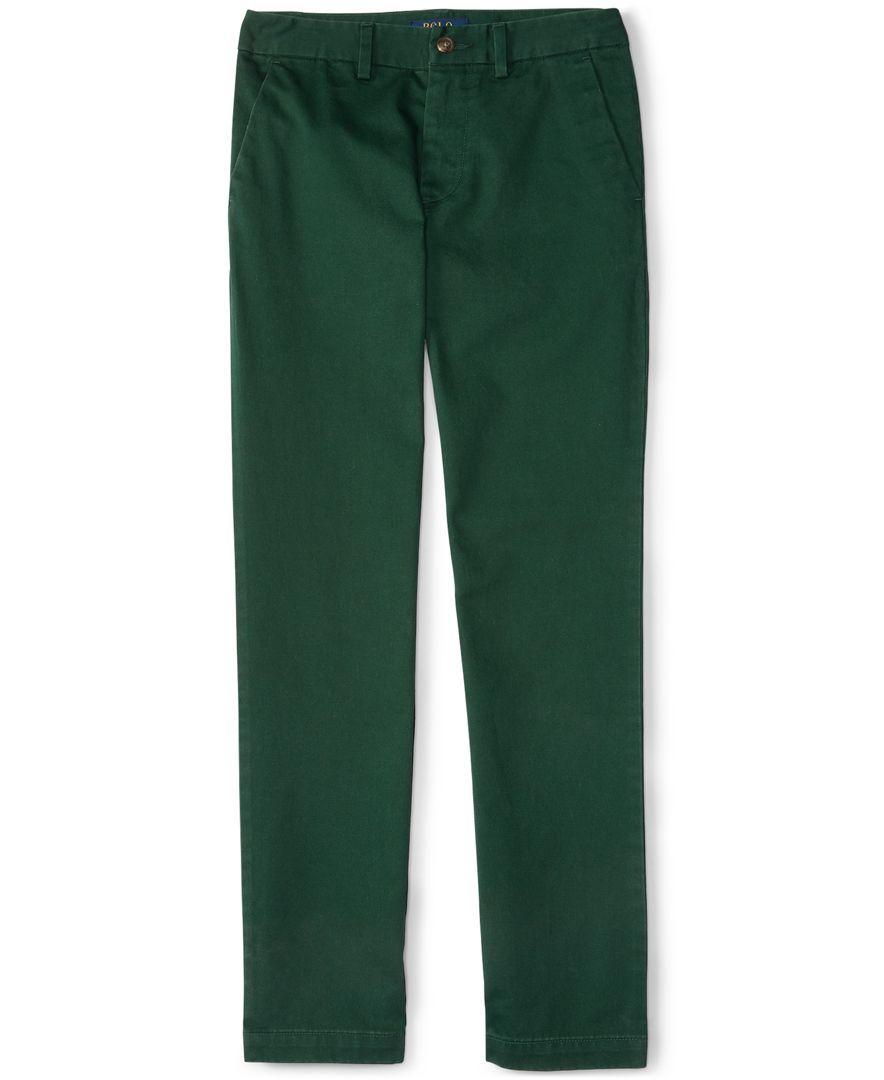 Ralph Lauren Little Boys' Slim-Fit Chino Pants