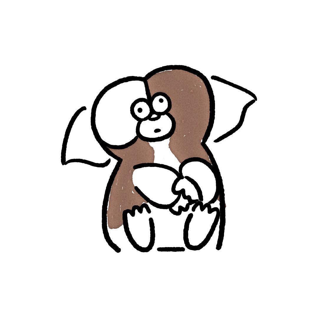 Gizmo gizmo gremlins seijimatsumoto 松本誠次 art drawing illustration  illustrator movie イラスト グレムリン ギズモ 映画