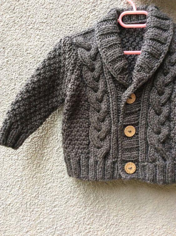 Photo of Punto bebé suéter Rebeca bebé de mano de punto por Istanbulknit-#bebé #istan…